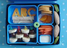 I can't wait to do the kids' school lunches in bentos