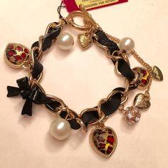 """Betsey Johnson Bracelet Stylish BJ bracelet 8"""" Betsey Johnson Jewelry Bracelets"""