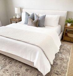 Bedding Master Bedroom, Room Design Bedroom, King Bedroom, Guest Bedrooms, Home Bedroom, Target Bedroom, Target Bedding, Queen Bedding, Queen Beds