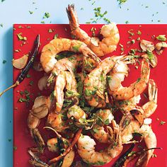 Chile-Garlic Shrimp by Chef Andres : I can almost inhale the aroma and goodness. The recipe is quick, easy and adaptable.