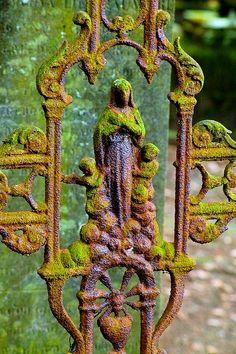 Beautifull Bettina w/ moss and rust...