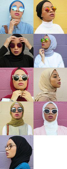 One of the most instagramed and tumblr hijabi in 2015 IG: @FEEEEYA