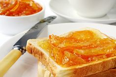 Marmalade is a soft translucent jelly preserve. Make orange marmalade from fruit, water, and sugar. Cape Gooseberry, How To Make Orange, Marmalade Recipe, Version Francaise, Calories, Tostadas, Vegan Gluten Free, Macaroni And Cheese, Food To Make
