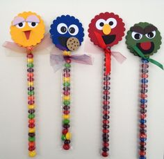 Paper Therapy Sesame Street Candy wands