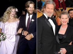 Post with 6535 votes and 39208 views. Good Guy Jeff Bridges: Gets Married, Becomes Famous, Stays Married for 36 years Leon Bridges, Jeff Bridges Wife, Celebrities Then And Now, Beautiful Celebrities, Beautiful People, Celebrity Couples, Celebrity Weddings, Cinema, Lasting Love