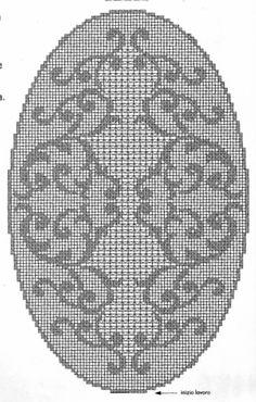 @nika Oval Tablecloth, Crochet Tablecloth, Crochet Doilies, Crochet Art, Crochet Home, Crochet Patterns, Crochet Hair Accessories, Crochet Hair Styles, Filet Crochet Charts