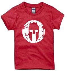 SPARTAN Helmet Logo Tee - Kids