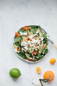 , Avocado and Feta Salad