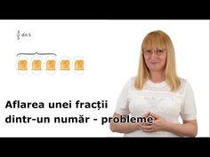 Aflarea unei fracții dintr-un număr - probleme - YouTube Math, Musica, Math Resources, Mathematics