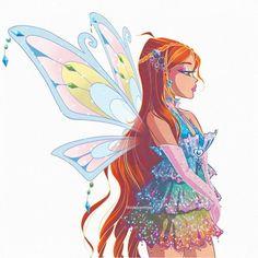 Cute Cartoon, Cartoon Art, Character Art, Character Design, Les Winx, Flora Winx, Finn Stranger Things, Bloom Winx Club, Drag