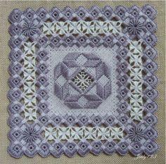 hardanger designers | Jill's Stitching Pages - Hardanger designs (Geen patroon)