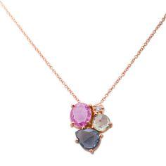 Κολιέ με ορυκτές πολύτιμες & ημιπολύτιμες πέτρες | Κοσμηματοπωλείο ΤΣΑΛΔΑΡΗΣ στο Χαλάνδρι από το 1958 #ορυκτές #πέτρες #κολιέ #necklace #jewelry