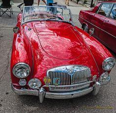 British Vintage MGA 1960