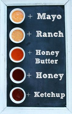 Everyone knows about spicy mayo, but spicy... honey?  I'll try anything with sriracha.