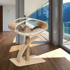 #CatBed #CatHouse CatFurniture #Cats Gatos ~ V-Lounge Katzenmöbel - alt_image_three