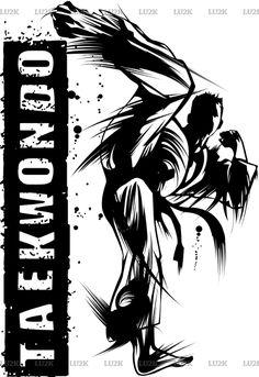Taekwondo Flash Kick . Ready at Sunfrog.com