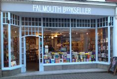 Falmouth Bookshop (and Dolly's Tea Rooms). I was hoping it was Falmouth, Cape Cod. Oh well.