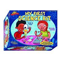 Scientific Explorer My First Science Kit and over 7,500 other quality toys at Fat Brain Toys. Little scientists will mix up a batch of interesting oozes.  Grow and shrink all kinds of colorful crystals that sparkle before your eyes.  Even capture a real rainbow in a test tube and learn all about the science behind colors!
