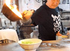 Up in Flames — Discovering Japan's Sizzling Fire Ramen