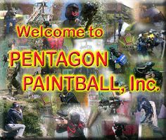 Pentagon Paintball Discount Pro Shop and Fields