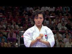 ▶ Final Female Kata. Rika Usami of Japan. 21st WKF World Karate Championships Paris 2012 - YouTube