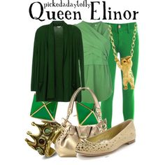 A fashion look from April 2013 featuring green top, sleeveless tops and jegging jeans. Browse and shop related looks. Disney Character Outfits, Disney Inspired Outfits, Disney Outfits, Disney Style, Disney Characters, Brave Pixar, Fandom Fashion, Aspinal Of London, Streetwear Brands