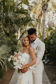 Take notes from this effortlessly stylish couple their beautiful tropical themed acre baja celebration Wedding Pics, Wedding Blog, Wedding Planner, Wedding Ideas, Wedding Stuff, Dream Wedding, Wedding Inspiration, Tropical Wedding Dresses, Celebration Images