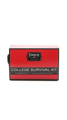 college survival kit, great graduation gift