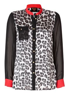 Sarah Kern | Women's Fashion | Bluse mit Leopardendruck | #HSE24 #clothing #top
