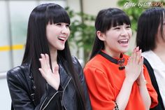 A~chan and Kashiyuka arriving in Taiwan (2014.02.21) by capataiwan