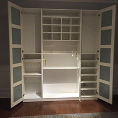 It's almost finished #IKEA #ikeapax #craftroom #craftroommakeover