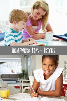 My 10 Homework Tips & Tricks to help little one reach their full potential…
