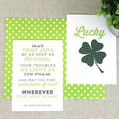 ... Patrick's Day with these free art prints. Just print, trim and frame