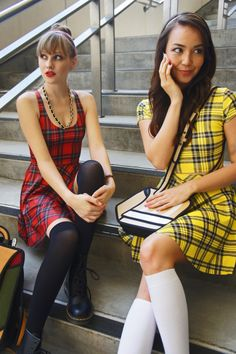 Ladies of Emma Approved rock a Clueless inspired look and its everything