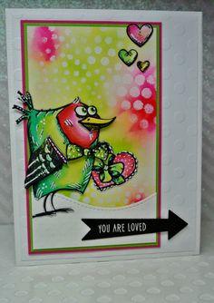 Stamp Tart: Crazy Bird Love