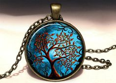 Big Tree of life Pendant, 0472PB from EgginEgg by DaWanda.com