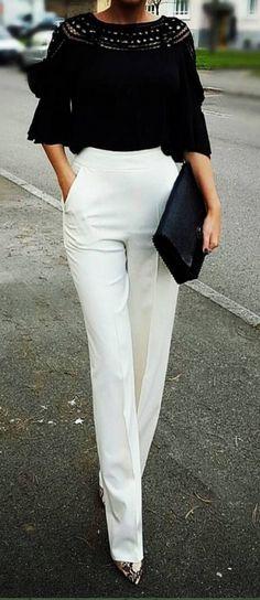 - #summer #fashion / black and white