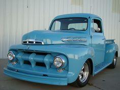 ford trucks old 1951 Ford Truck, Old Pickup Trucks, Lifted Chevy Trucks, Lifted Ford Trucks, New Trucks, Trucks For Sale, Custom Trucks, Cool Trucks, F100 Truck