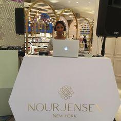 Behind The Scenes of the #NourJensenLaunch at the Dubai Mall. #levelshoedistrict #dubaimall #nourjensen