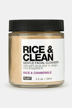 """""""Another Innovator Awards nominee, this powder grain turns into a soft exfoliator with just a little bit of water. I first discovered this while I was attempting to follow Marie Antoinette's beauty routine and while I was skeptical at first, I'm now devoted to its skin-softening superpowers."""" Plant Rice"""