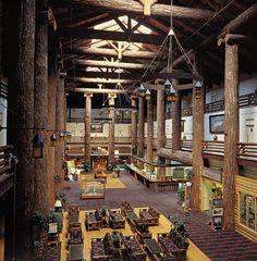 Glacier Park Lodge outside of Glacier National Park, $152 including tax and fees for Value Lodge Room