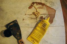 repairing wood veneer
