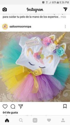 Natalia Vozna - Diy And Home Unicorn Birthday Parties, Birthday Bash, Baby Birthday, First Birthday Parties, First Birthdays, Birthday Ideas, Baby Shower Unicornio, Unicorn Baby Shower, Party Time