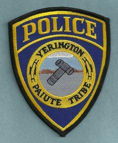 Yerington+Paiute+Nevada+Tribal+Police+Patch