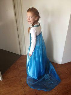Kid friendly (comfy!) Elsa Dress