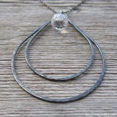 crystal raindancer necklace (bold onyx) at Amy Friend Jewelry #AmyFriendMarchWin