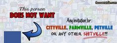 Farmville, Blah Blah Requests Fb Cover
