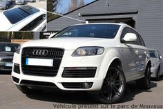 AUDI Q7 4.2 V8 TDI 340 DPF AVUS 7PL PACK S LINE Audi Q7 S Line, Audi Q7 Tdi, Need For Speed, Cars Motorcycles, Dream Cars, 4x4, Transportation, Wheels, Boat