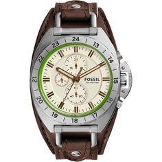 e2c1ade7187 Relógio Masculino Fossil Analógico - Resistente à Água Cronógrafo com as  melhores condições você encontra no Magazine Monomegaloja. Confira!