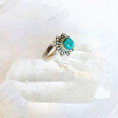Ula - Sterling Silver Stone Midi Ring